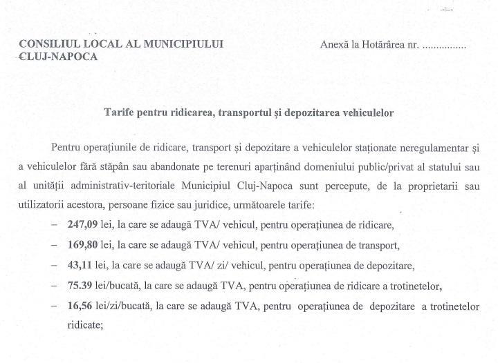 Cât vor plăti Bolt, Lime sau Flow ca să-şi recupereze trontinetele de la RADP Cluj-Napoca