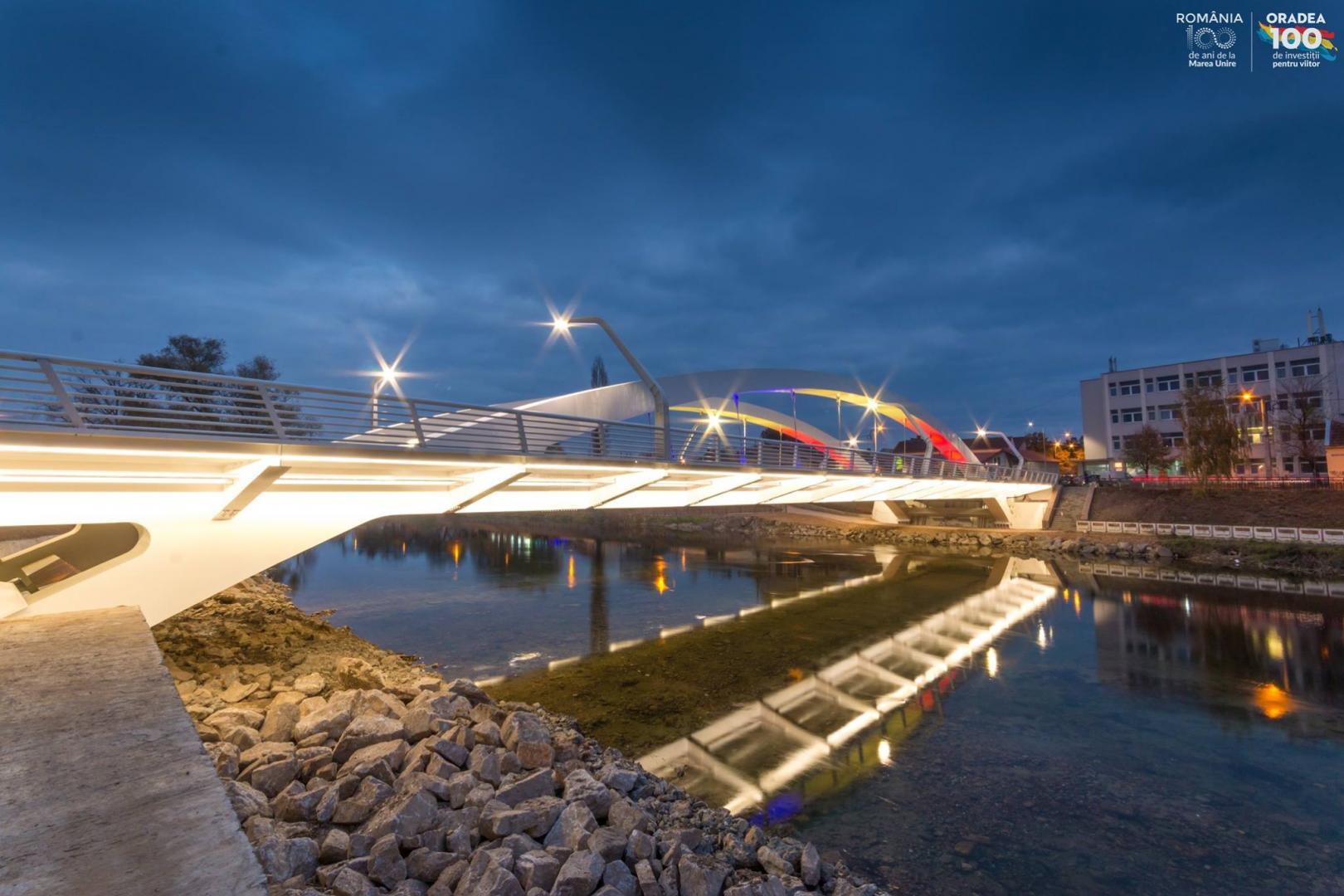 În Cluj-Napoca avem un pod în stadiu de proiect, la fel ca cel din Oradea, pe care se circulă din 2018