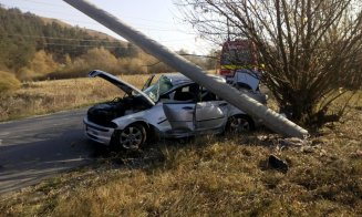 Accident violent la Cluj