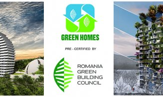 Cele mai noi ansambluri rezidențiale dezvoltate de STUDIUM GREEN, precertificate GREEN HOMES de către Romania Green Building Council
