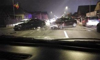 UPDATE/ Accident GRAV în Florești. Trei mașini implicate