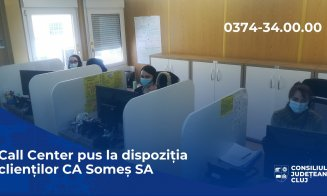 "Call Center la Compania de Apă ""Someș"". Care va fi programul de funcționare"