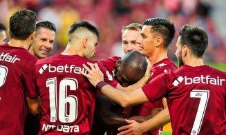 CFR Cluj a aflat când va juca meciul tur din Liga Campionilor cu Young Boys Berna