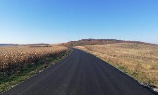 Un nou drum județean din Cluj a fost asfaltat! Cum arată